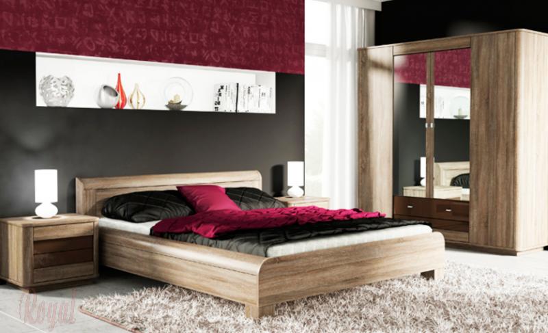 Moderne Schlafzimmer Braun