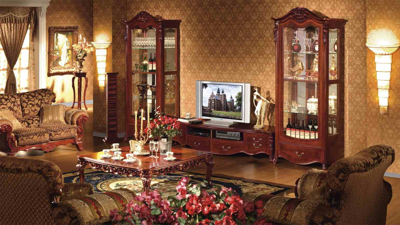 Шикарная Мебель Для Гостиной